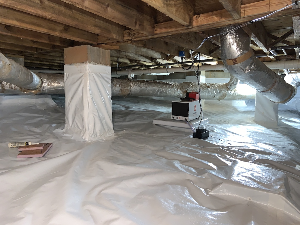 Crawl Space Cleaning Sunnyvale